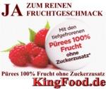 Pürees und mehr aus Früchte, Frucht-Pürees, Frucht-Produkte finden Sie im KingFood.de Onlineshop. Tiefkühlware - Riesige Auswahl für Gastronomen und Hobbyköche!
