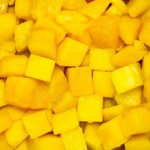 Mangowürfel, 15x15 mm, TK, 2,5 kg