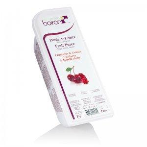 Püree - Sauerkirsch & Cranberry, TK, 1 kg