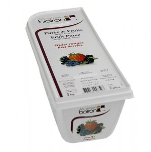 Püree - Waldfrüchte und rote Beeren, TK, 1 kg