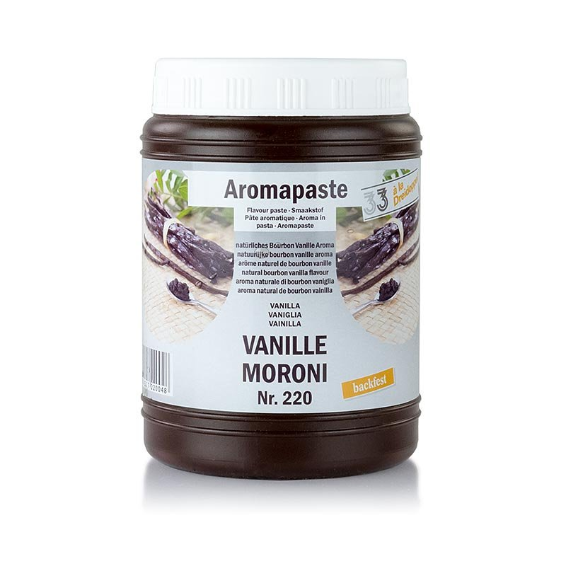 Moroni-Vanille-Paste, Dreidoppel, No.220, 1 kg