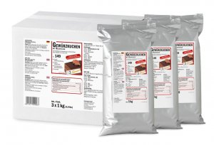 Gewürzaromazubereitung, Aroma Gewürzkuchen von DreiDoppel, No.149, 3x 1 kg, 3 kg