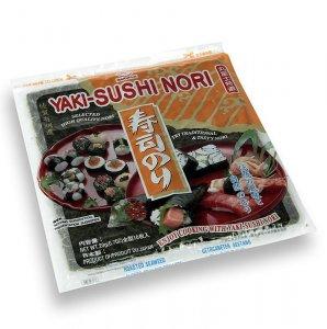 Nori- und Sojabohnen-Blätter für Sushi