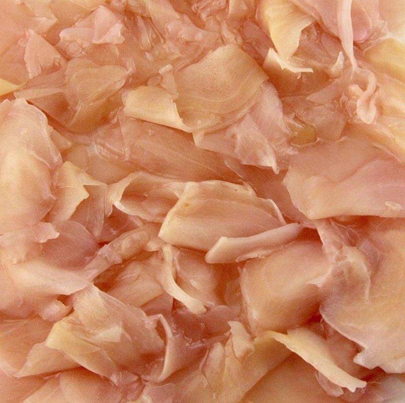Ingwer, eingelegt, rosa, aus China, 1,6 kg
