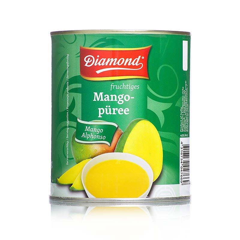 Mango-Pulpe, gezuckert, Alphonso, Diamond, 850 g