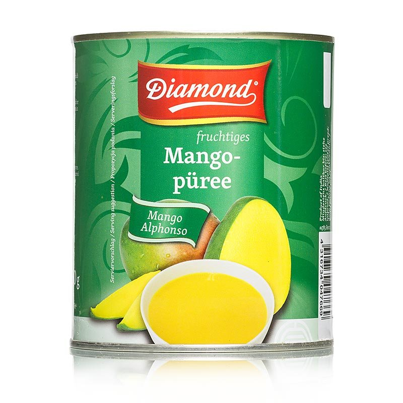 Mango-Pulpe, gezuckert, Alphonso, Diamond, 3,1 kg