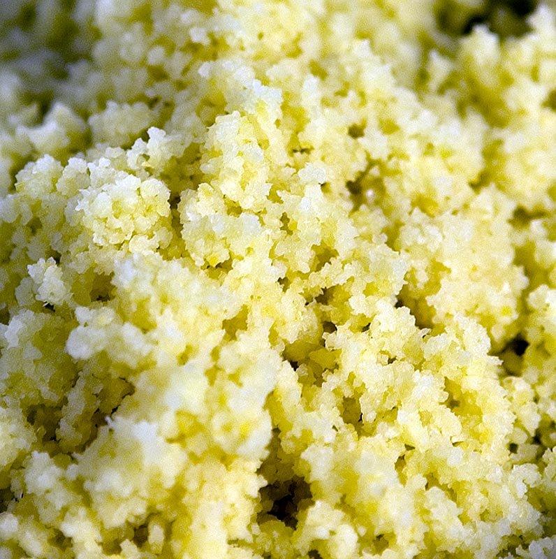 Zitronenschalen - frisch, fein gerieben, ungezuckert, 1 kg