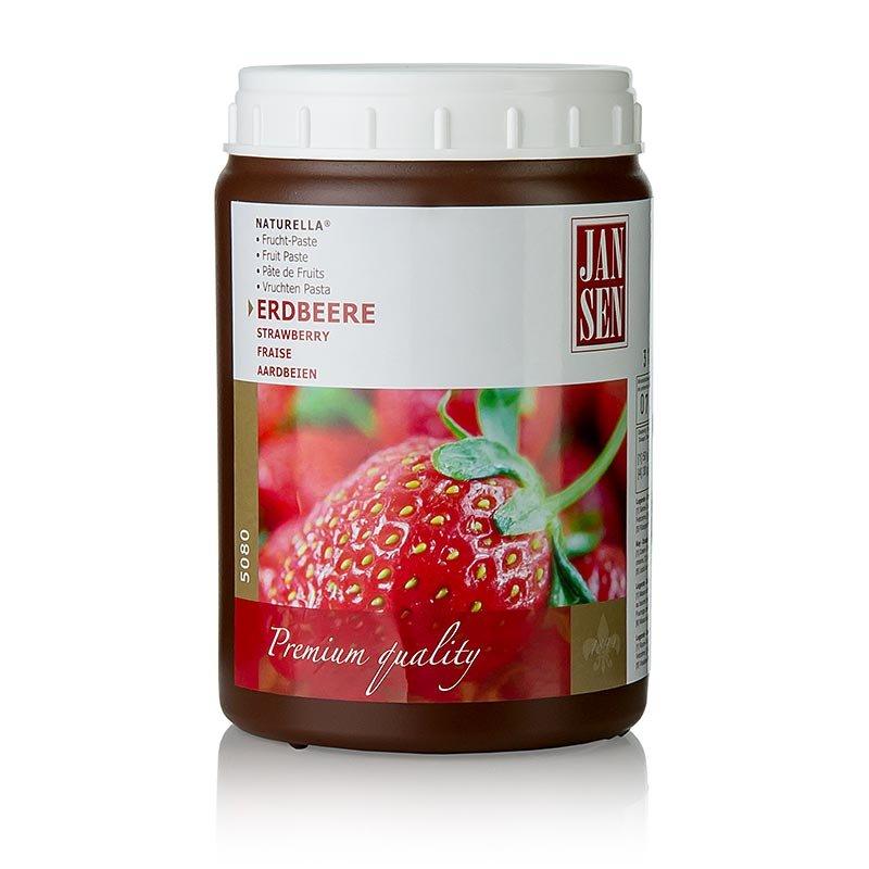 Fruchtpaste Erdbeere Naturella, Jansen, 1 kg