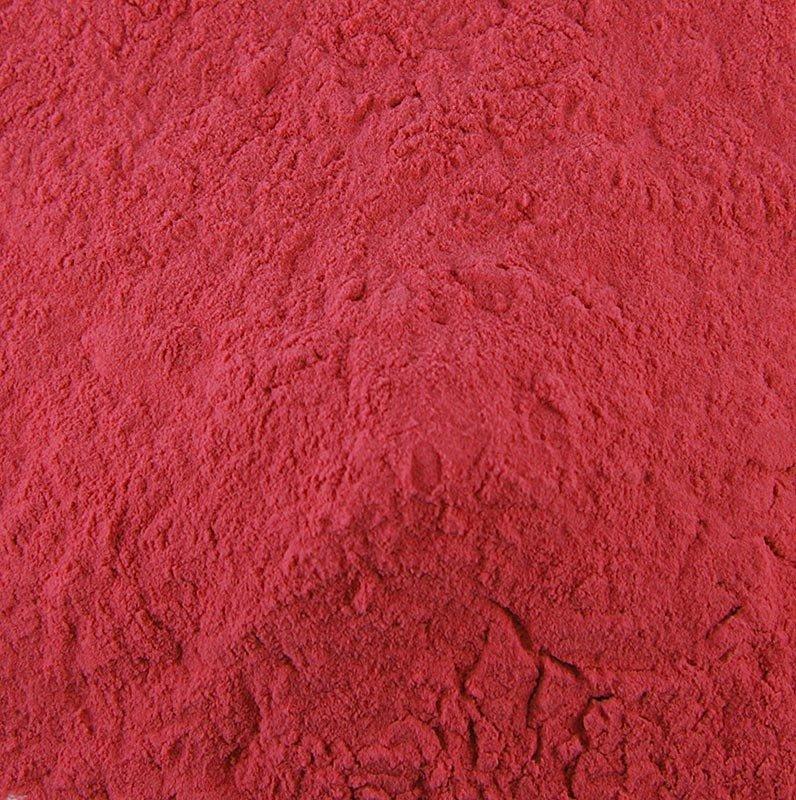 Fruchtpulver Cassis, sprühgetrocknet, mit Maltodextrin, 1 kg