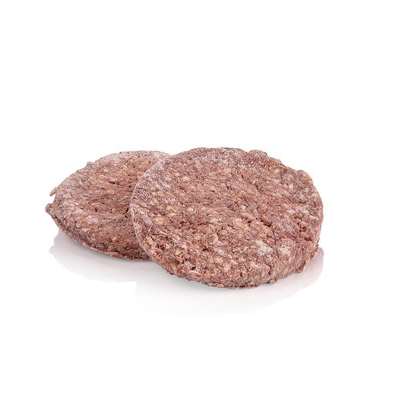 Burger Patties, Red Heifer Beef Dry Aged, ø 12cm, eatventure, TK, 900 g, 5 x 180g