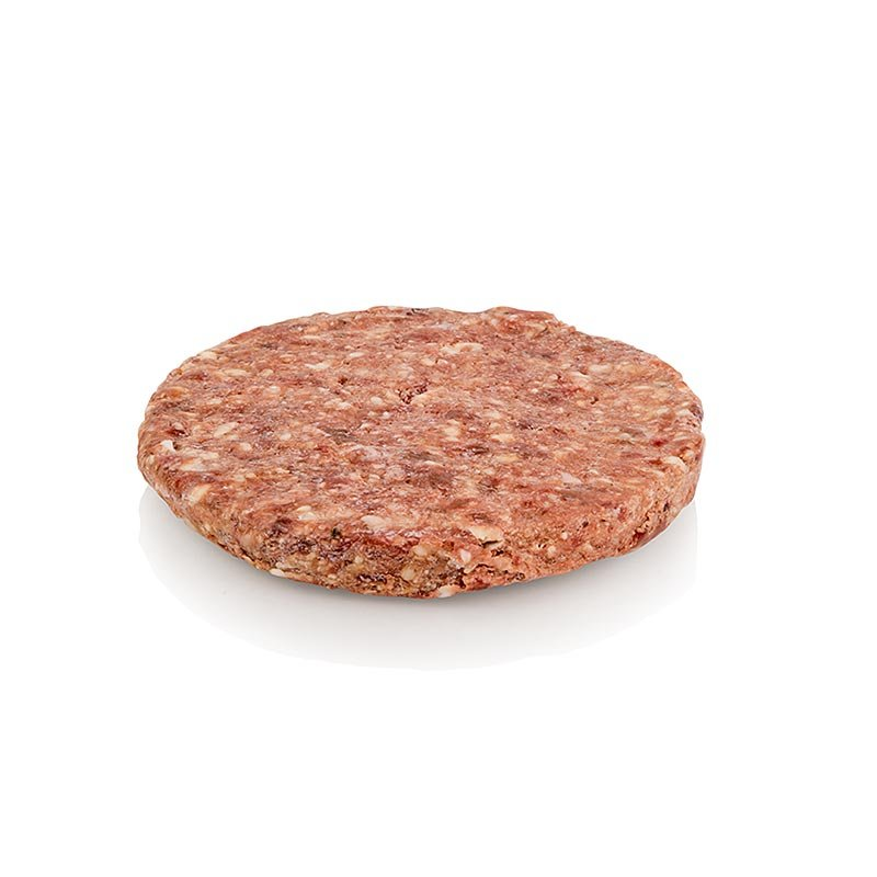 Burger Patty, Red Heifer Beef Dry Aged, ø 12cm, eatventure, TK, 180 g