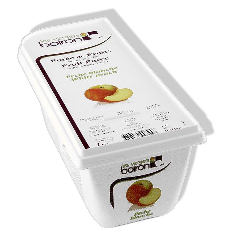Püree - Weißer Pfirsich, Rhônetal, gezuckert, TK, 1 kg