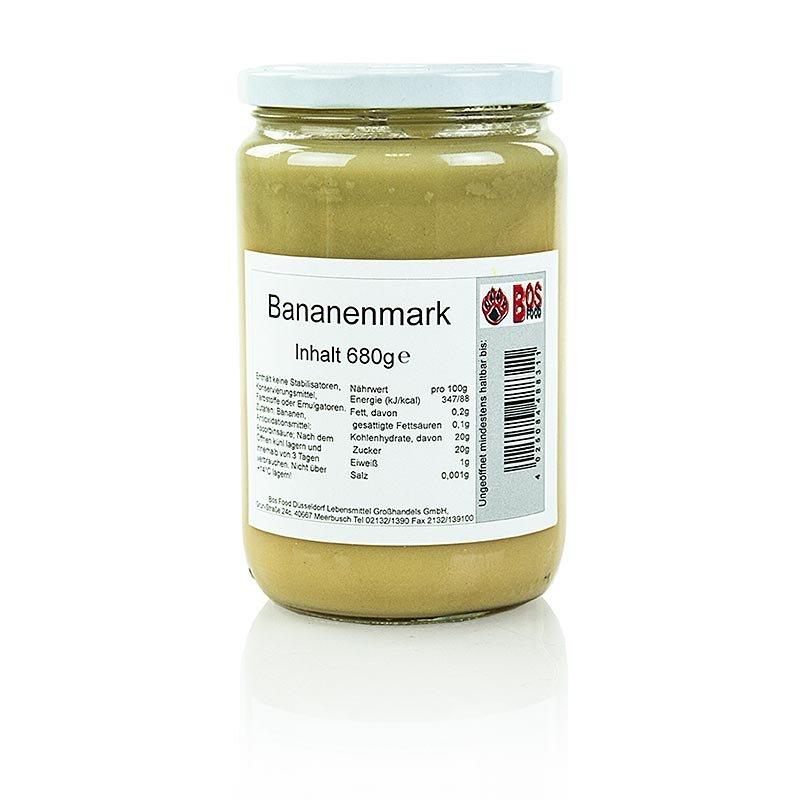 Püree/Mark - Banane, fein passiert, 680 g