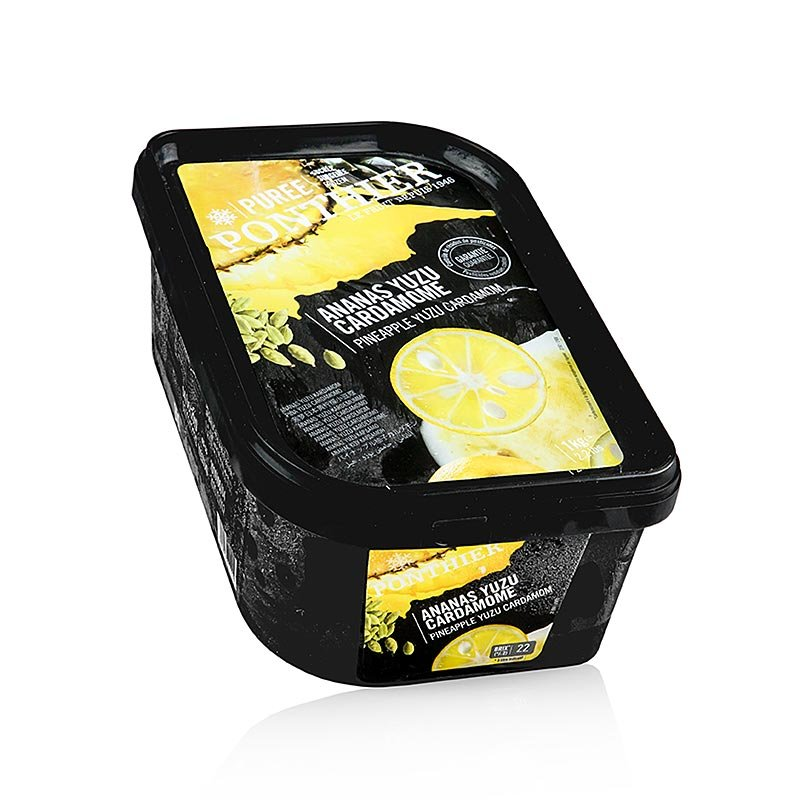 Püree - Ananas, Yuzu, Cardamom & Rohrzucker, TK (Cocktailbase), 1 kg