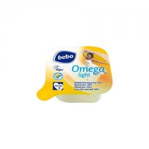 """Bebo Halbfettmargarine """"Omega Light"""", 100 Stück à 10 g, 1 Kg"""