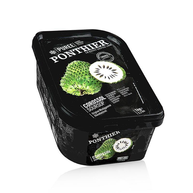 Püree - Soursop / Stachelannone, mit Zucker, TK, 1 kg