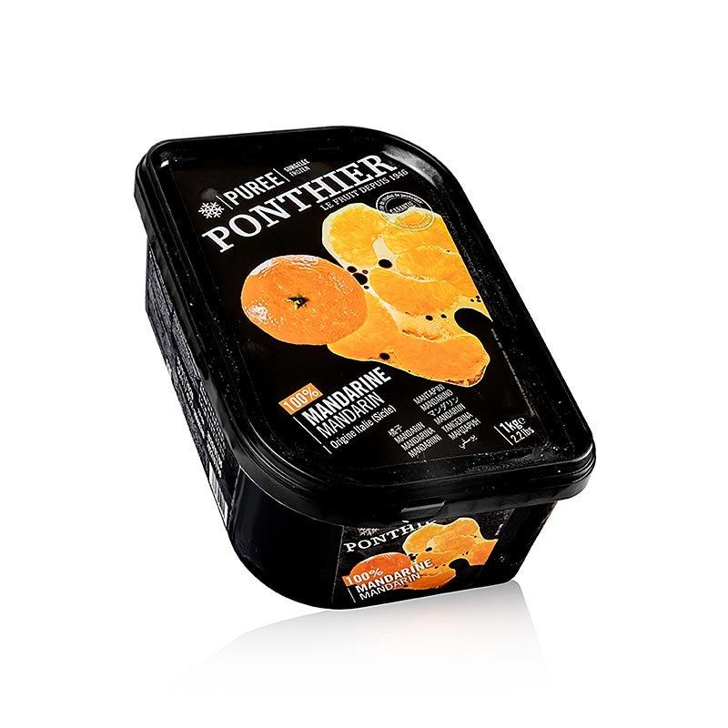 Ponthier Mandarinen Püree, 100% Frucht, TK, 1 kg