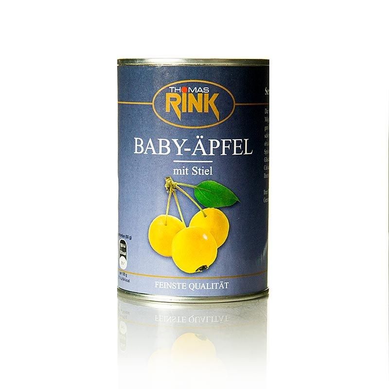 Baby-Äpfel, leicht gezuckert, mit Stiel, 425 g