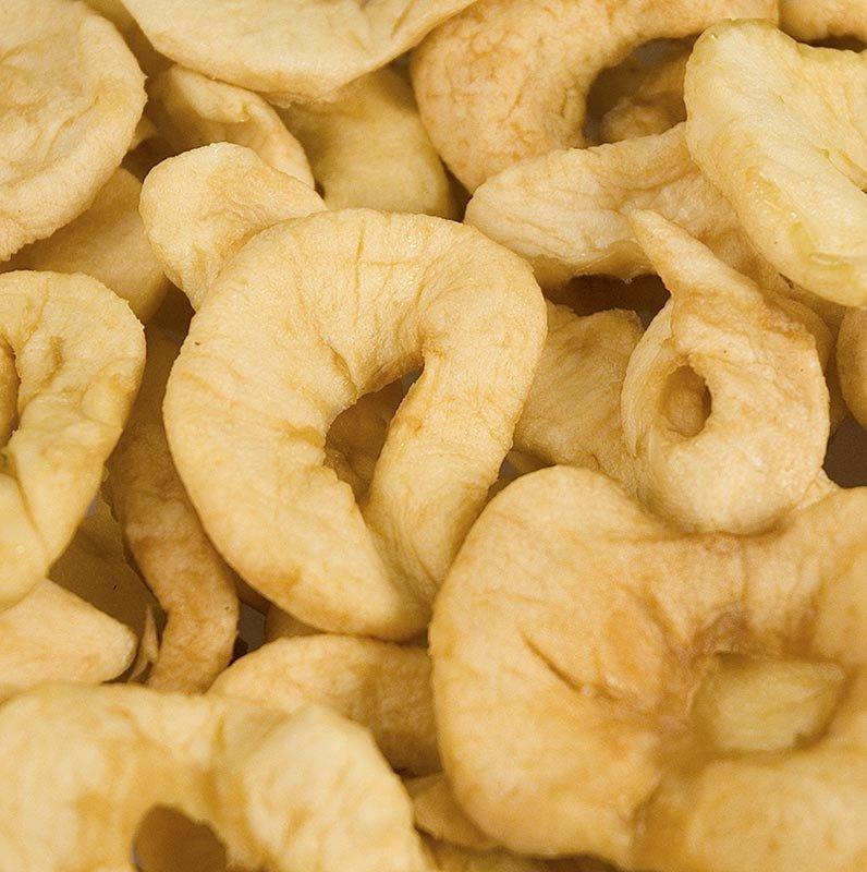 Apfel Ringe, getrocknet, geschwefelt, 1 kg