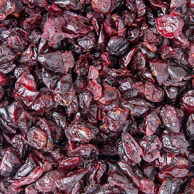 Cranberries/Moosbeeren, getrocknet, ungeschwefelt, gesüßt, hell, USA, 1 kg