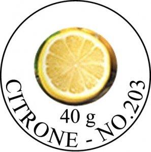Citrone, Konditoreipaste, Dreidoppel, No.203, 40 g