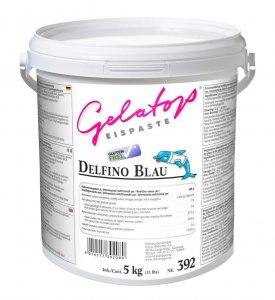 Delfino blau* Eispaste für Milcheis von DreiDoppel, No.392, 5 kg