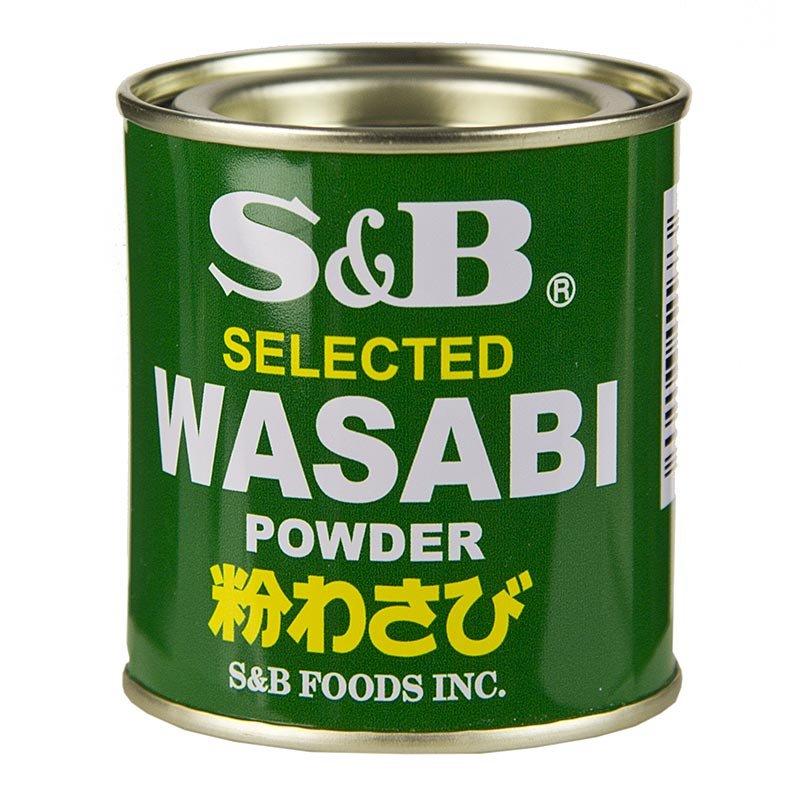 Wasabi - Grünes Meerrettich-Pulver, mit echtem Wasabi, 30 g