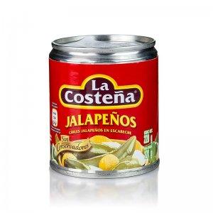 Chili Schoten - Jalapenos, ganz (La Costena), 220 g