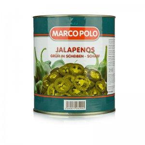 Chili Schoten - Jalapenos, geschnitten, 3 kg