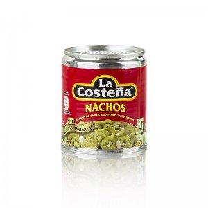 Chili Schoten - Jalapenos, geschnitten (La Costena), 199 g