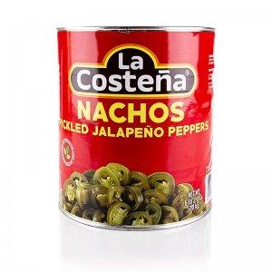 Chili Schoten - Jalapenos, geschnitten (La Costena), 2,8 kg