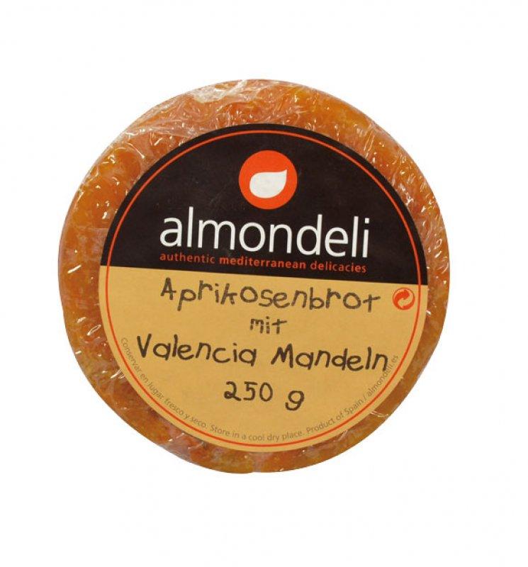 Aprikosenbrot mit Mandeln 250 g (Almondeli)