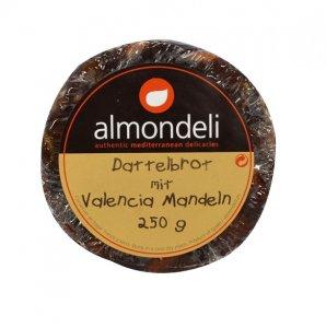 Dattelnbrot mit Mandeln 250 g (Almondeli)