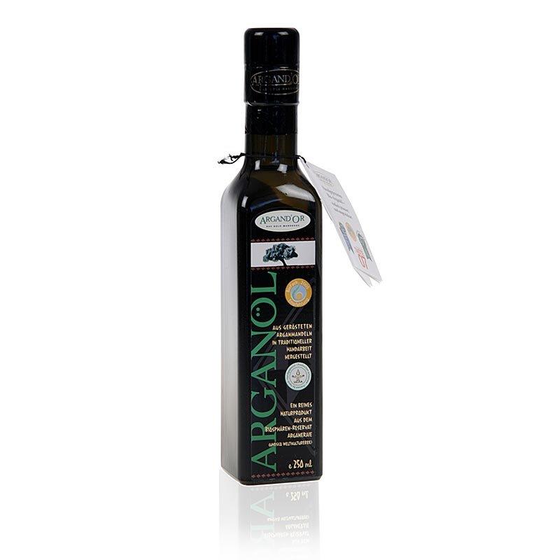 Arganöl, Marokko, traditionell, gefiltert, Argandor, BIO, 250 ml
