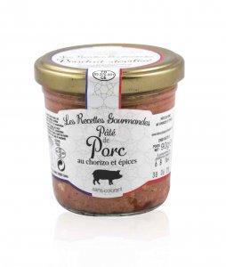 Schweinepastete mit Chorizo 90 g (Recettes Gourmandes)