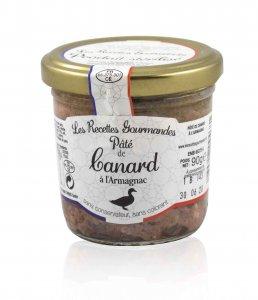 Entenpasteten mit Armagnac 90 g (Recettes Gourmandes)