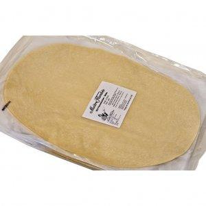 Bio Flammkuchen-Teigboden, oval, 38 x 28 cm, 1200 Stück
