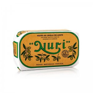 Makrelenfilets, in Olivenöl, 3-4 Stück, Nuri (Portugal), 125 g