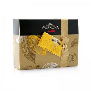 Valrhona Ballotin Sortiment, feine Pralinenmischung, 230 g, 25 Stück