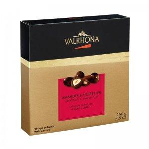 Valrhona Equinoxe Kugeln - Mandeln/Haselnüsse in Bitterschokolade, 250 g