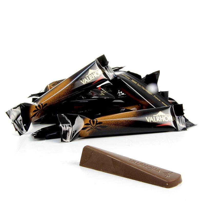 """Valrhona Schokoladen-Stäbchen """"Eclat"""", Vollmilch, 39% Kakao, 1 kg, 244 Stück"""