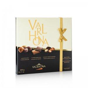 Valrhona Selection Chocolates fins, Pralinen- & Tafelmischung, 400 g