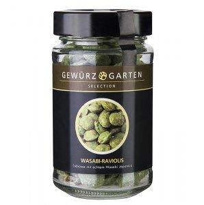 Gewürzgarten Erdnüsse im Teigmantel, Wasabi Raviolis, mit echtem Wasabi Japonica, 90 g