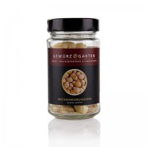 Gewürzgarten Macadamia-Nüsse, ganz, geröstet, gesalzen, 110 g