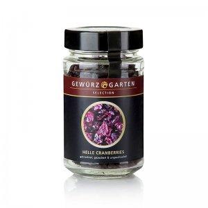 Gewürzgarten Helle Cranberries, getrocknet, ungeschwefelt, gezuckert, 120 g