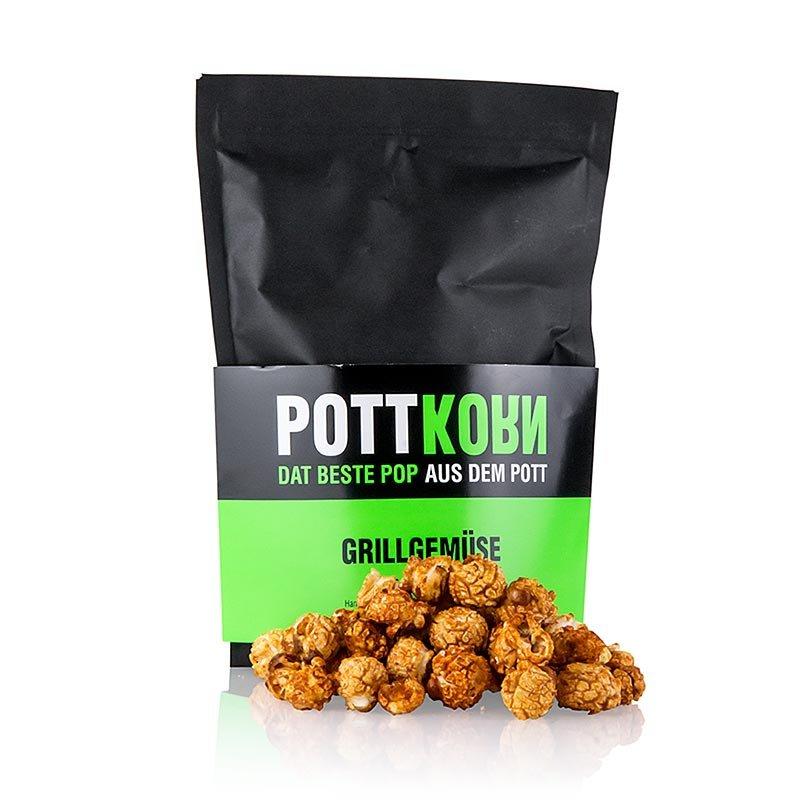 Pottkorn - Grillgemüse, Popcorn mit BBQ Rauchpaprika, 80 g