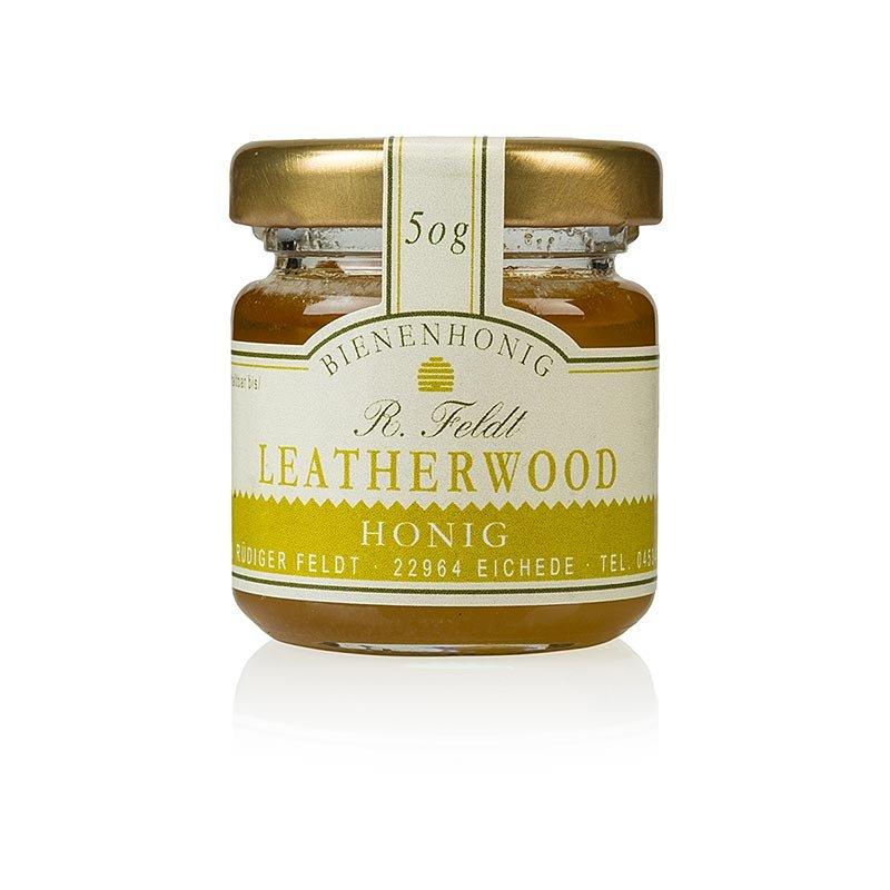 Leatherwood-Honig, Tasmanien, hellbraun, cremig, hocharomatisch, Portionsglas, 50 g
