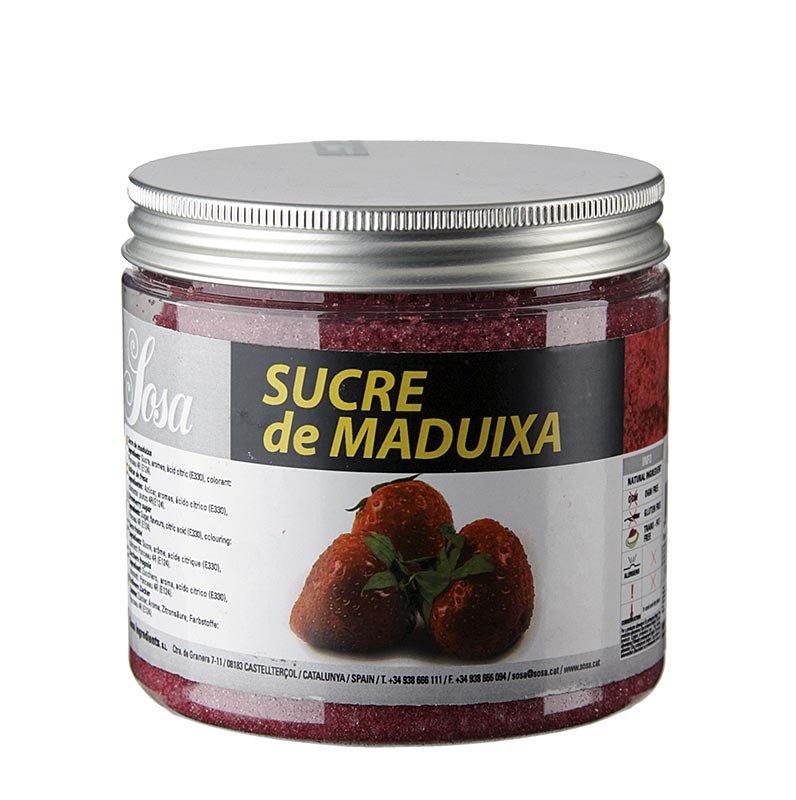 Sosa Zucker mit Erdbeeraroma, 500 g