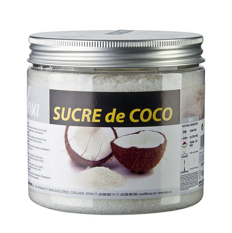 Sosa Zucker mit Kokos, 500 g