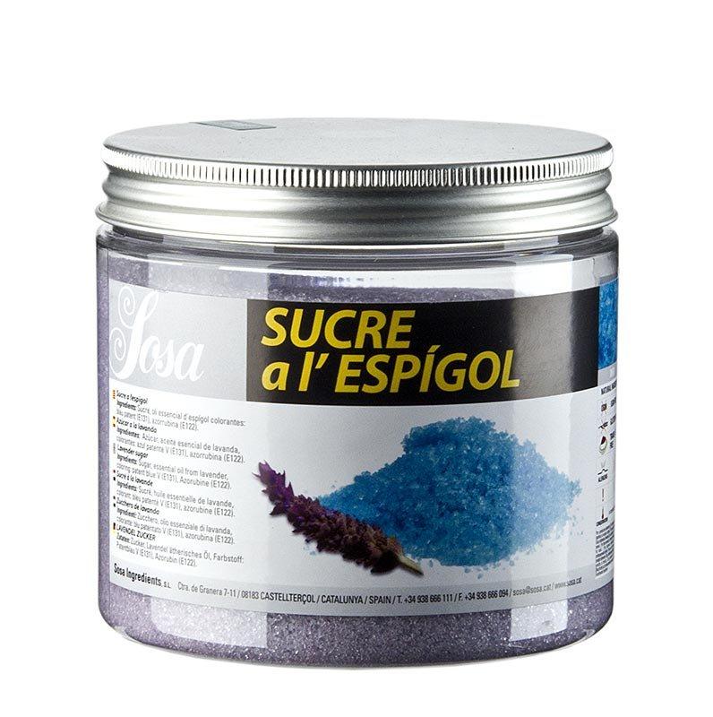 Sosa Zucker mit Lavendel, 500 g